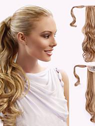 Недорогие -На ленте Конские хвостики Искусственные волосы Волосы Наращивание волос Волнистый