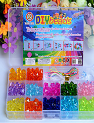 cheap -DIY Craft Beads/Color Beads Scattered Beads Children's Educational Toys Gift Box By Hand