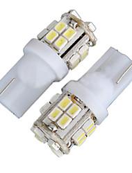 Недорогие -2pcs T10 Автомобиль Лампы 4W SMD 1012 340lm 20 Декоративное освещение / Подсветка для номерного знака / Подсветка для чтения