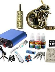 cheap -BaseKey Tattoo Machine Starter Kit, 1 pcs Tattoo Machines with 1 x 20 ml tattoo inks - 1 alloy machine liner & shader