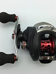 cheap -Fishing Reel Baitcasting Reel 6.3:1 Gear Ratio+11 Ball Bearings Left-handed Bait Casting / Freshwater Fishing / Lure Fishing - KW150L