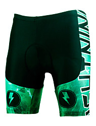 cheap -ILPALADINO Men's Unisex Cycling Padded Shorts Bike Shorts Padded Shorts / Chamois Pants Windproof Breathable 3D Pad Sports Lycra Green Road Bike Cycling Clothing Apparel Relaxed Fit Bike Wear