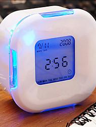 Недорогие -привело светящиеся изменение цифровой светящийся сигнал термометр часы куб (цвет случайный)