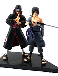 cheap -Anime Action Figures Inspired by Naruto Sasuke Uchiha PVC(PolyVinyl Chloride) 16 cm CM Model Toys Doll Toy / More Accessories / More Accessories