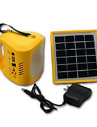 cheap -1pc Cool White LED Solar Lantern Light Lamp USB Power Bank for Camping Hikingg