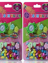 Недорогие -развивающие игрушки амблиопии детские поделки ремесло бисер правильные продукты видения новые механические часы боксы