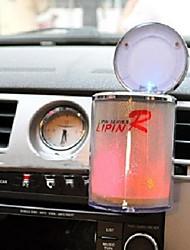 Недорогие -привело света портативный автомобиль грузовик авто офис домой сигареты держатель пепельницы автомобильные аксессуары водить пепельницы