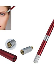 cheap -1pcs Basekey Pro Permanent Eyebrow Makeup Manual Tattoo Pen Red