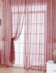 cheap -Sheer Curtains Shades One Panel For Living Room