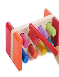 cheap -The Wooden Station Building Block Toy Puzzle Early on Piling