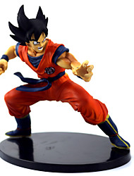 cheap -Anime Action Figures Inspired by Dragon Ball Son Goku PVC(PolyVinyl Chloride) 15 cm CM Model Toys Doll Toy