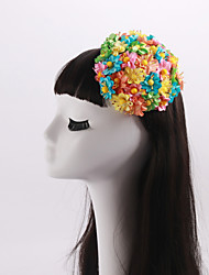 cheap -Women's / Flower Girl's Fabric Headpiece-Wedding / Special Occasion / Casual Flowers 1 Piece