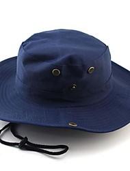 Недорогие -Шляпа от солнца Шляпа для туризма и прогулок Шляпа Boonie Кепка Высокая воздухопроницаемость (> 15 001 г) Мягкий Легкие материалы камуфляж 100% полиэстер Весна Лето Осень для Муж. Жен. / Зима