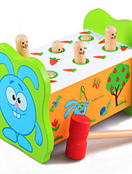 cheap -Children's Educational Hamster Percussion Fruitworm Large Wooden Toys on Early Childhood