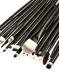 cheap -Professional Makeup Brushes Makeup Brush Set 20pcs Portable Travel Eco-friendly Professional Full Coverage Goat Hair / Pony / Synthetic Hair Wood Makeup Brushes for Eyeliner Brush Blush Brush Lip