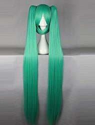 cheap -Vocaloid Miku Cosplay Wigs Women's 50 inch Heat Resistant Fiber Anime Wig