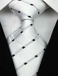 cheap -Men's Luxury / Grid / Classic Necktie - Creative Stylish
