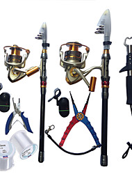 cheap -Telespin Rod 180,270 cm Telescopic Extra Heavy (XH) Sea Fishing Ice Fishing Spinning / Freshwater Fishing / Bass Fishing / Lure Fishing / General Fishing / Trolling & Boat Fishing
