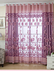 cheap -Country Sheer Curtains Shades One Panel Living Room   Curtains