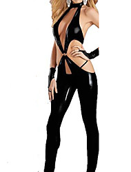 cheap -Women's Movie / TV Theme Costumes Career Costumes Sexy Uniforms More Uniforms Sex Cosplay Costume Party Costume Solid Colored Leotard / Onesie / Leather