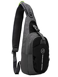 cheap -TANLUHU Shoulder Messenger Bag Chest Bag Running Pack 5 L for Cycling / Bike Sports Bag Multifunctional Waterproof Portable Nylon Men's Women's Running Bag
