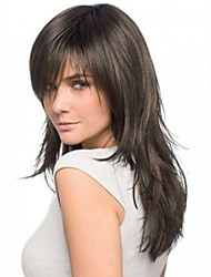 cheap -Remy Human Hair Lace Front Wig style Brazilian Hair Straight Wig 130% 150% 180% Density 16 inch Women's Short Medium Length Long Human Hair Lace Wig Premierwigs