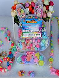 abordables -bricolage manuel de formation des enfants des bracelets de tissage amblyopie éducatif perles jouets / boîte de cadeau