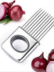 Недорогие -нож для резки лука из нержавеющей стали овощной инструмент томатный нож мясо подколенное сухожилие вилка