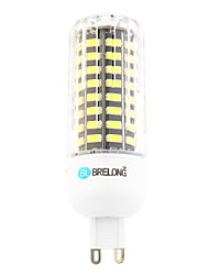 cheap -BRELONG 1 pc G9 80LED  Corn Light AC220V White  Warm White