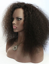cheap -joywigs afro curl human hair lace front full lace wigs 150 density black color afro curl wig