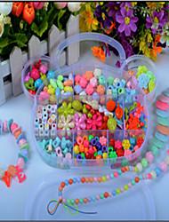 Недорогие -акриловый шарик пакет детей из бисера материал вручную