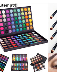 cheap -120 Colors Eyeshadow Palette Powders Makeup Brushes Matte Shimmer Eye Matte Shimmer Glitter Shine smoky Waterproof Shimmer glitter gloss Coloured gloss Daily Makeup Halloween Makeup Party Makeup