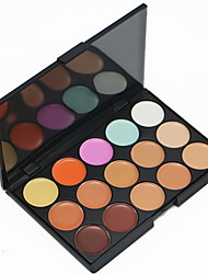 cheap -15 Colors Concealer Cream Concealer / Contour 1 pcs Dry / Wet / Matte Breathable / Whitening / Fast Dry Body / Face China Makeup Cosmetic
