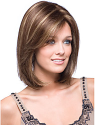 cheap -Synthetic Wig Straight Straight Wig Blonde Synthetic Hair Blonde