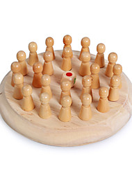 cheap -Board Game Chess Game Wooden Kid's Adults' Boys' Girls' Toys Gifts