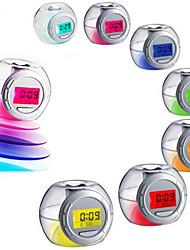 Недорогие -Будильник Цифровой пластик Светодиодные 1pcs