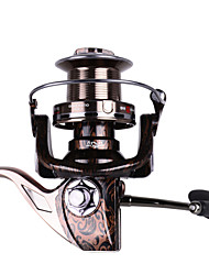 cheap -Spinning Reel 4.9:1 Gear Ratio+13 Ball Bearings Hand Orientation Exchangable Sea Fishing / Spinning / Jigging Fishing - RS9000