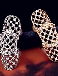 cheap -Women's Silver Golden Alloy Fashion Wedding Party Jewelry filigree / Rhinestone