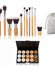 cheap -Concealer / Contour Makeup Brushes 1 pcs Eye / Lip / Face Classic / Middle Brush / Small Brush Daily Makeup Cosmetic Nylon Brush