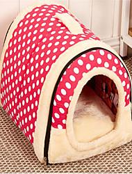 Недорогие -Кровати Животные Коврики и подушки Компактность Коричневый Котон
