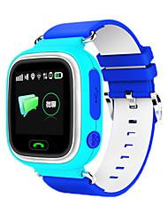 cheap -Men's Sport Watch Fashion Watch Wrist Watch Digital Rubber Blue / Pink LED GPS Watch Cool Digital Orange Blue