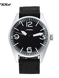 cheap -SINOBI Men's Wrist Watch Quartz Black 30 m Water Resistant / Waterproof Analog Classic - Black