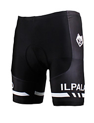 cheap -ILPALADINO Men's Unisex Cycling Padded Shorts Bike Shorts Padded Shorts / Chamois Windproof Breathable 3D Pad Sports Lycra Black Clothing Apparel Bike Wear / Quick Dry / Anatomic Design / Quick Dry