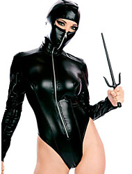 cheap -Women's Animal More Costumes Sexy Uniforms More Uniforms Sex Zentai Suits Cosplay Costume Catsuit Solid Colored Leotard / Onesie / Leather