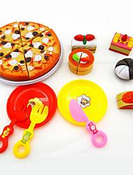 Недорогие -Игрушка кухонные наборы Игрушечная еда Ролевые игры Игрушечная еда и всё для кухни Игрушки Десерт Торты пластик Куски