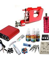 cheap -BaseKey Tattoo Machine Starter Kit - 1 pcs Tattoo Machines with 1 x 15 ml tattoo inks Mini power supply Case Not Included 2 decoration firing machine liner & shader