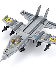 cheap -Models & Building Toy The Air Force Fighter The Children Assembled Puzzle Small Particles  Educational Toys For Children