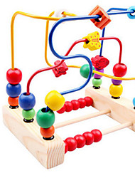 cheap -Around Beads Toy Abacus Educational Toy Bird Classic Colorful Education Wooden Kid's Summer Fun with Kids Boys' Girls'