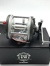 cheap -Fishing Reel Baitcasting Reel / Trolling Reel 4.2:1 Gear Ratio+4 Ball Bearings Right-handed Sea Fishing / Bait Casting / Trolling & Boat Fishing - PUNCH 830
