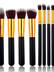 cheap -Professional Makeup Brushes Makeup Brush Set 8pcs Portable Travel Eco-friendly Professional Full Coverage Wood for Blush Brush Foundation Brush Eyeshadow Brush Concealer Brush Makeup Brush Set Powder
